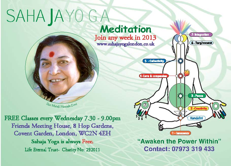 Covent Garden-Free Meditation & Yoga Class
