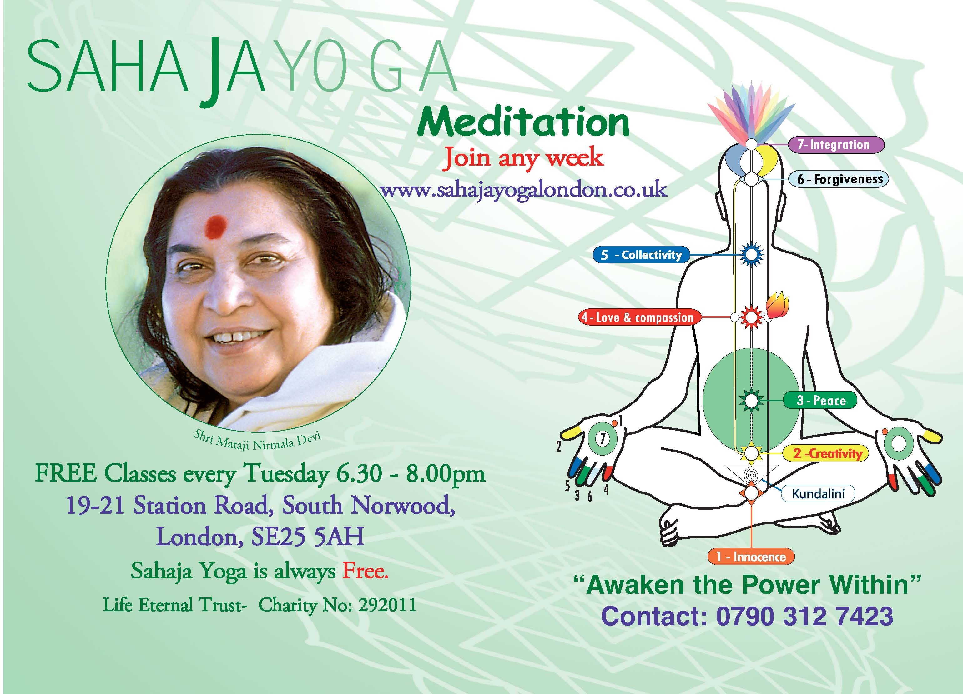 Norwood - Achieve Yoga & Learn to Meditate - Tuesdays @ 6.30pm