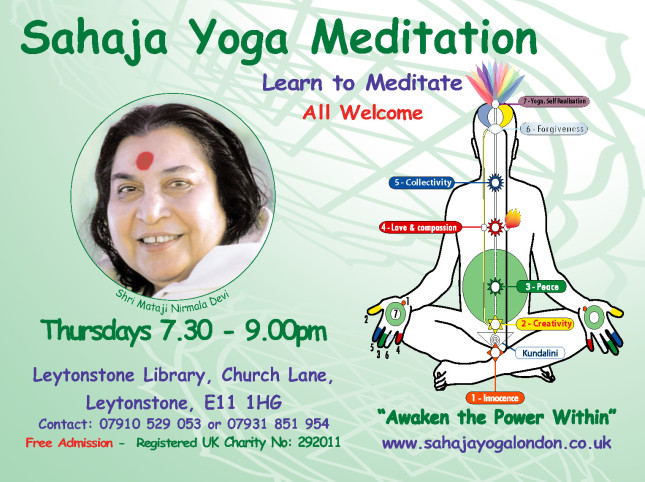 LeytonstoneFree Meditation & Yoga Meetings
