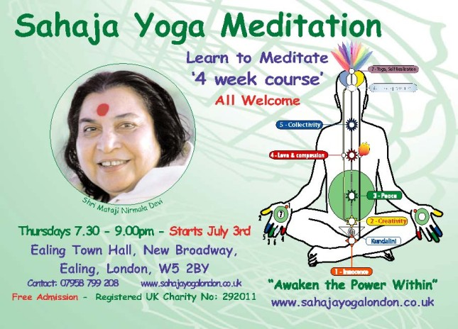 Free Meditation Class - July 2014