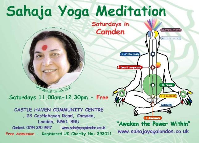Free Meditation &  Yoga Camden