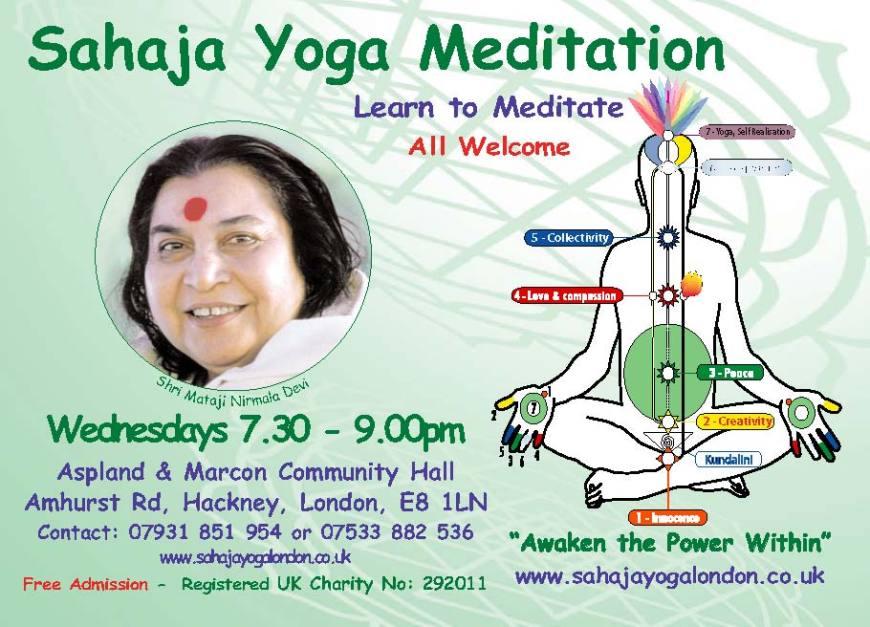 Free Meditation Classes in Hackney