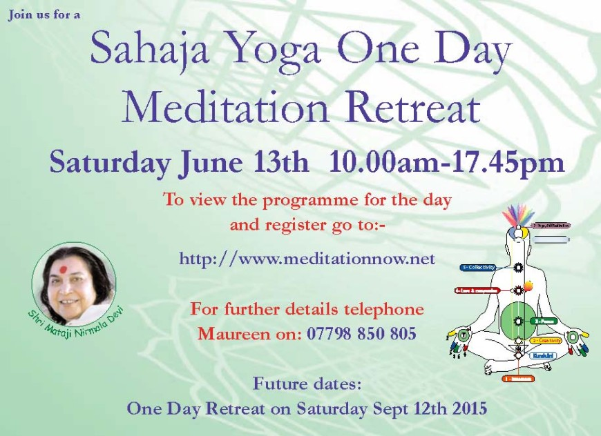 Meditation Retreat – June 13th
