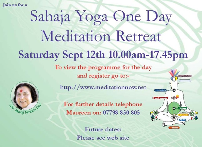 Retreat Sept 12th 2015