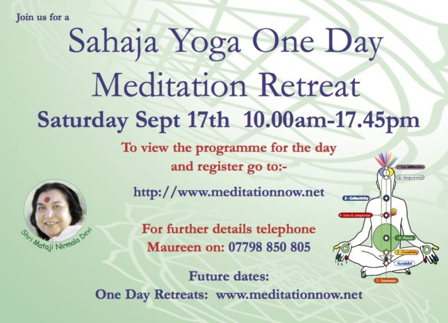 Retreat Sept 17th 2016