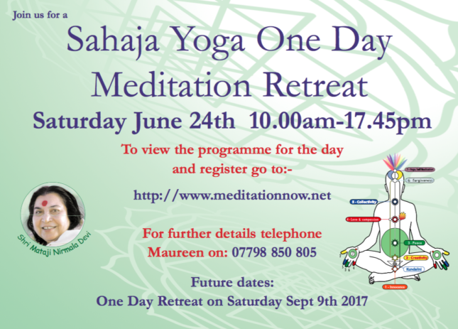 Retreat June 24th & Sept 9th 2017