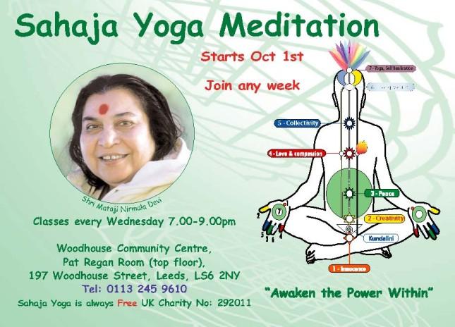 Free Meditation & Yoga Leeds
