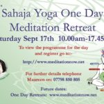 Meditation & Yoga Retreat – Sept 17th 2016