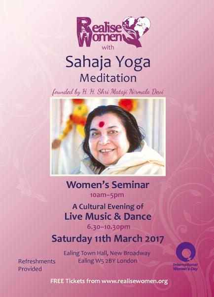 Achieve Yoga – Celebrating International Women's Day – Free Seminar