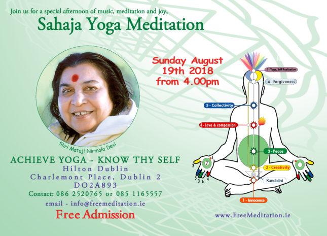 Free Meditation in Dublin